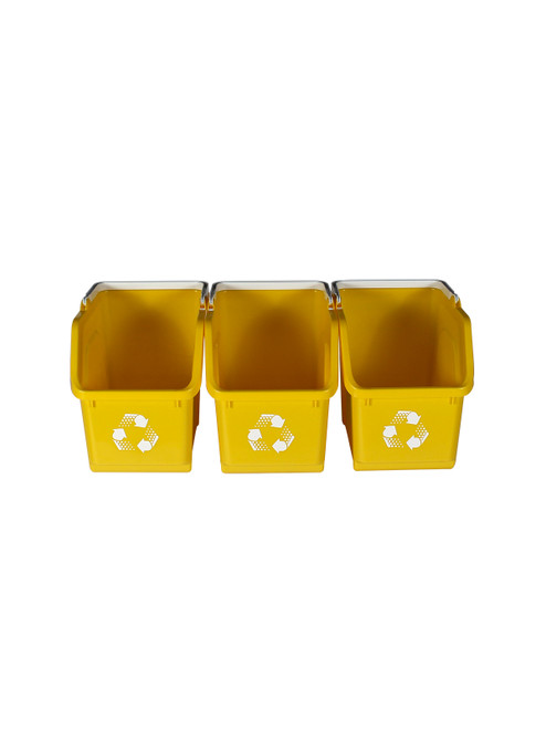 Yellow Stackable Multi Recycler (3 Pack)