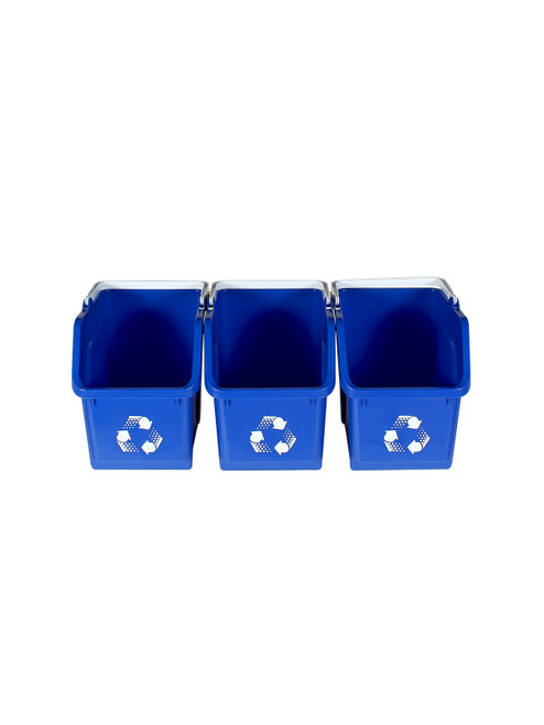 Blue Stackable Multi Recycler (3 Pack)