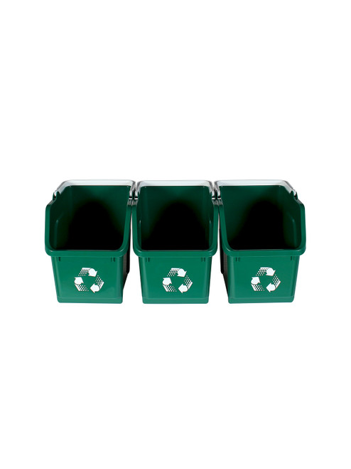 Green Stackable Multi Recycler (3 Pack)