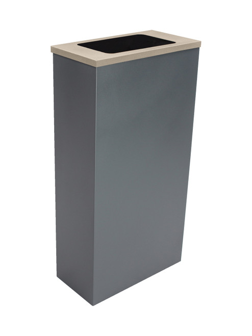 10 Gallon Spectrum Antimicrobial Lid PPE Trash Can 105358