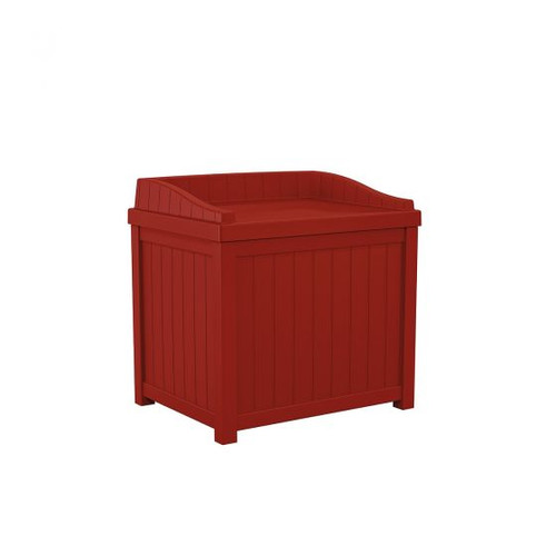 22 Gallon Deck or Patio Deck Box With Seat SS1000RD Red
