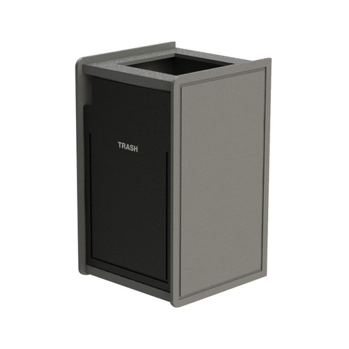 42 Gallon Single Top-Load Trash Can Routed 71TLFR42-00984