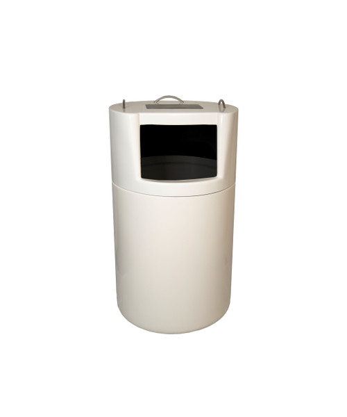 32 Gallon Fiberglass FOODCOURT Decorative Trash Receptacle