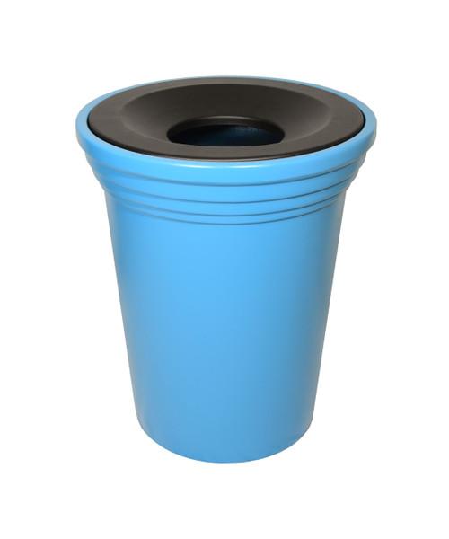 32 Gallon Fiberglass PALMETTO Decorative Trash Receptacle