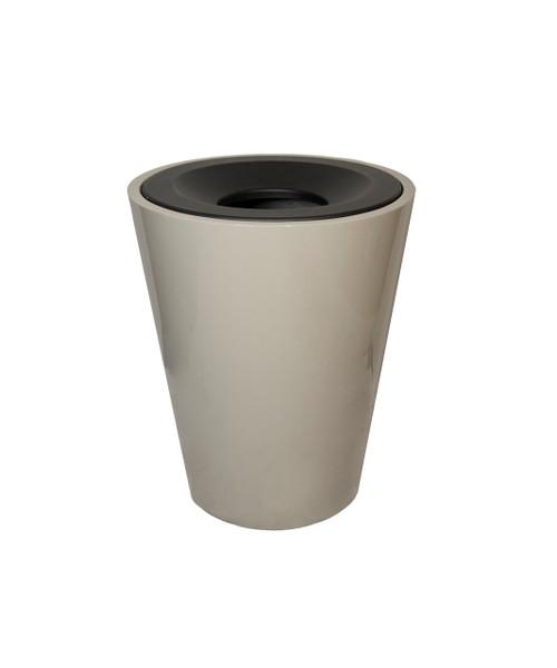 32 Gallon Fiberglass PHAROAH Decorative Trash Receptacle