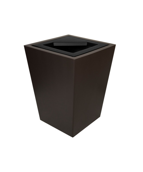 40 Gallon Fiberglass WINDSOR Decorative Trash Receptacle