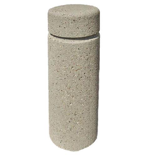 Concrete Bollard Safety Barrier 12 x 30 Weatherstone Gray TF6010QS