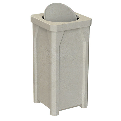 With Swivel Top Lid BEIGE GRANITE