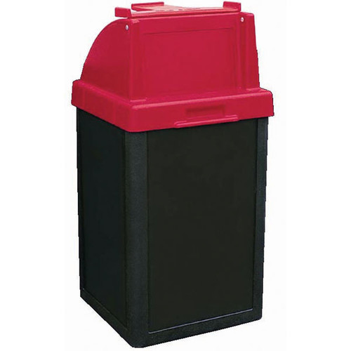 24 Gallon Restaurant Trash Can with Tray Holder TF1017