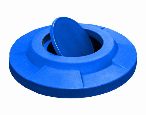 Drum Lid with Bug Barrier Swivel Door S7210A for 55 Gallon