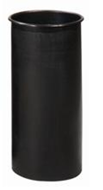 Witt Round Rigid Plastic Liner Black 10 Gallon