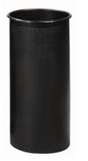 Witt Round Rigid Plastic Liner Black 10 Gallon