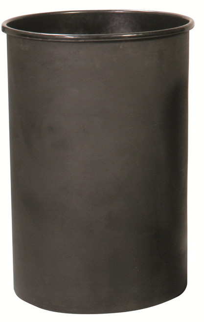 Witt Round Rigid Plastic Liner Black 35 Gallon
