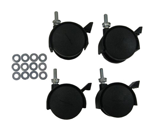 Wheel Kit for Metro Collection Trash Cans RC-MTR CASTERS