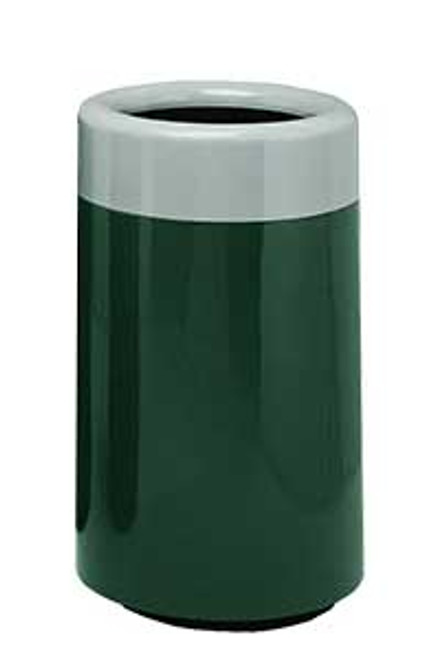60 Gallon Top Entry Round 7C2436T Fiberglass Waste Receptacle