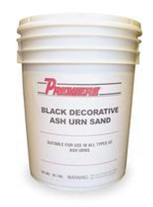 50lb Bucket Black Floor Urn Ashtray Sand EB6107