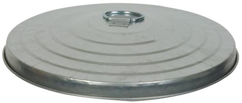 20 Gallon Light Duty Galvanized Trash Can Lid WCD20L (Case of 2)