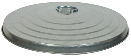 24 Gallon Heavy Duty Galvanized Trash Can Lid WHD24L