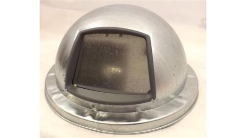 21.125 Inch Metal Galvanized Dome Lid 3434G for Galvanized Garbage Cans