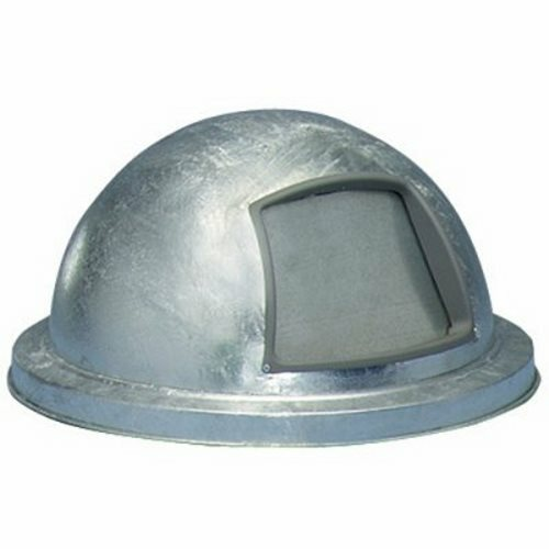 23.75 Inch Metal Galvanized Dome Lid 5555G for Steel Drums
