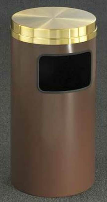 Mount Everest Flat Top Side Opening Trash Can (2 Sizes)