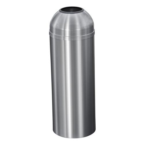 New Yorker 8 Gallon T1230SA Open Top Trash Receptacle w/Plastic Liner