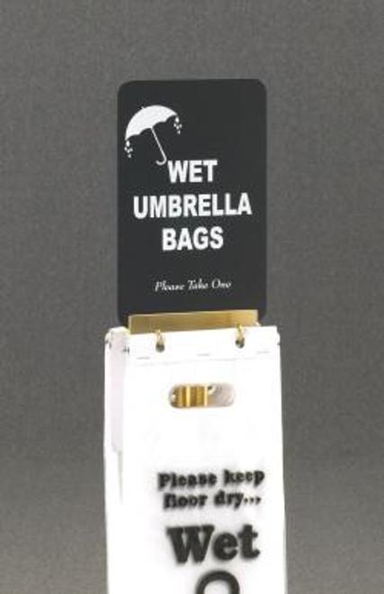 Sign for Glaro Wet Umbrella Bag Holder