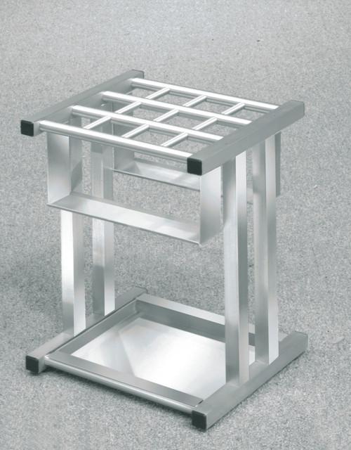 Glaro 1690SA Satin Aluminum Umbrella Stand