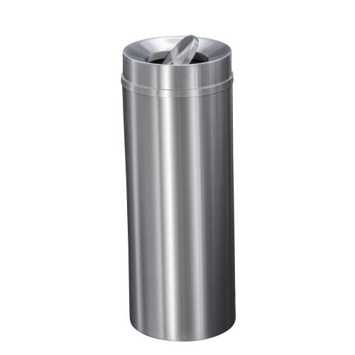 New Yorker 12 Gallon TA1232SA Tip Action Trash Receptacle w/Plastic Liner