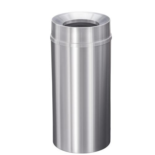 New Yorker 16 Gallon F1533SA Funnel Top Trash Receptacle w/Plastic Liner