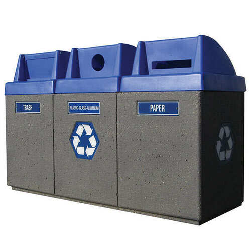 Outdoor Recycling Center TF1222