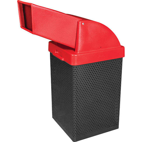 38 Gallon Metal Armor Drive Up Chute Waste Container MF3056