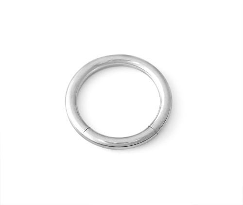 12g 316L Surgical Steel Segment Captive Ring