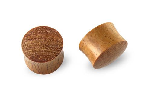 Pair Intaran Wood Plugs