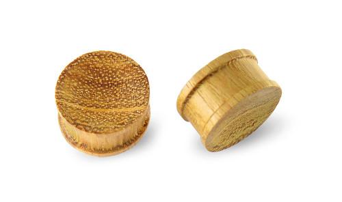 Pair Tewel Wood Plugs