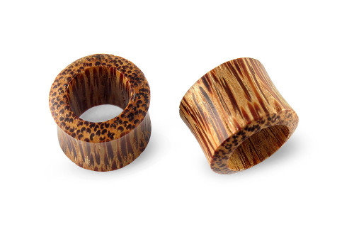 Pair Coconut Wood Tunnels