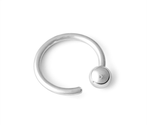 16g 316L Surgical Steel Screw On Ball Ring