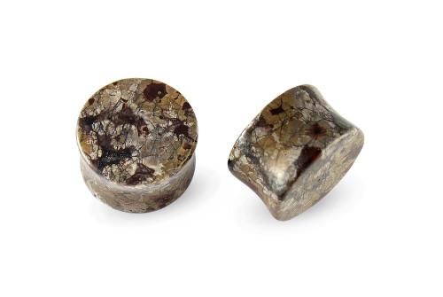 Pair Naodelite Stone Plugs