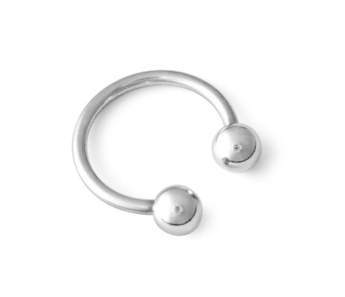 18g 316L Surgical Steel Circular Horseshoe Barbell