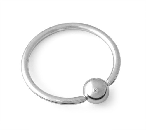 16g CBR 316L Surgical Steel Captive Bead Ring