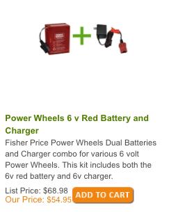 Power Wheels Kit