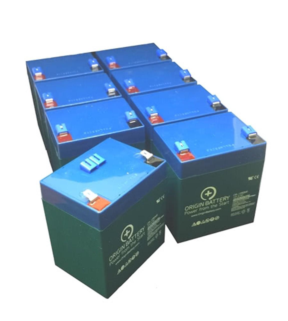 APC Smart-UPS 2200 RackMount 2U 230V SUA2200RMI2U UPSBatteryCenter Compatible Replacement Battery Pack RBC43