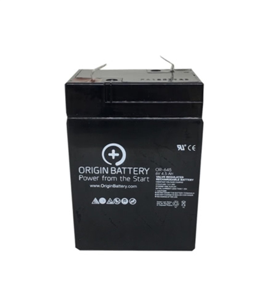 Chloride 100-001-0075 Compatible Replacement Battery