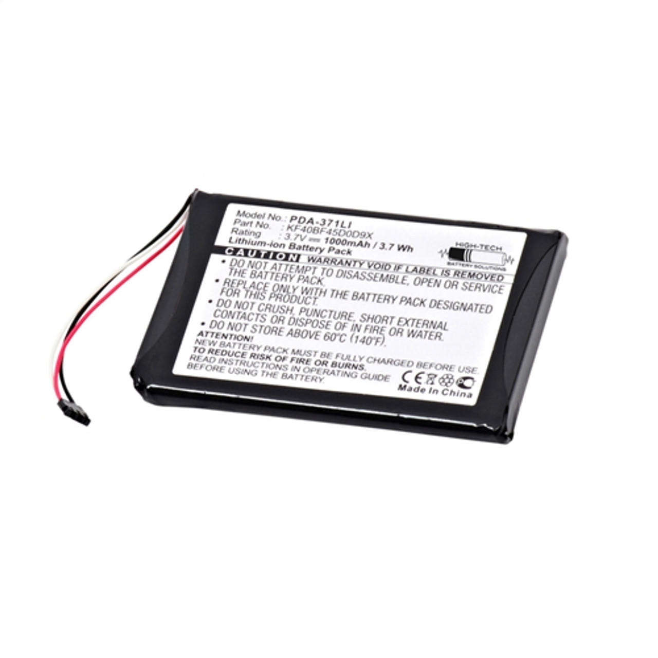 Garmin - Approach G6 GPS Battery ReplacementHigh-Tech Battery Solutions Inc