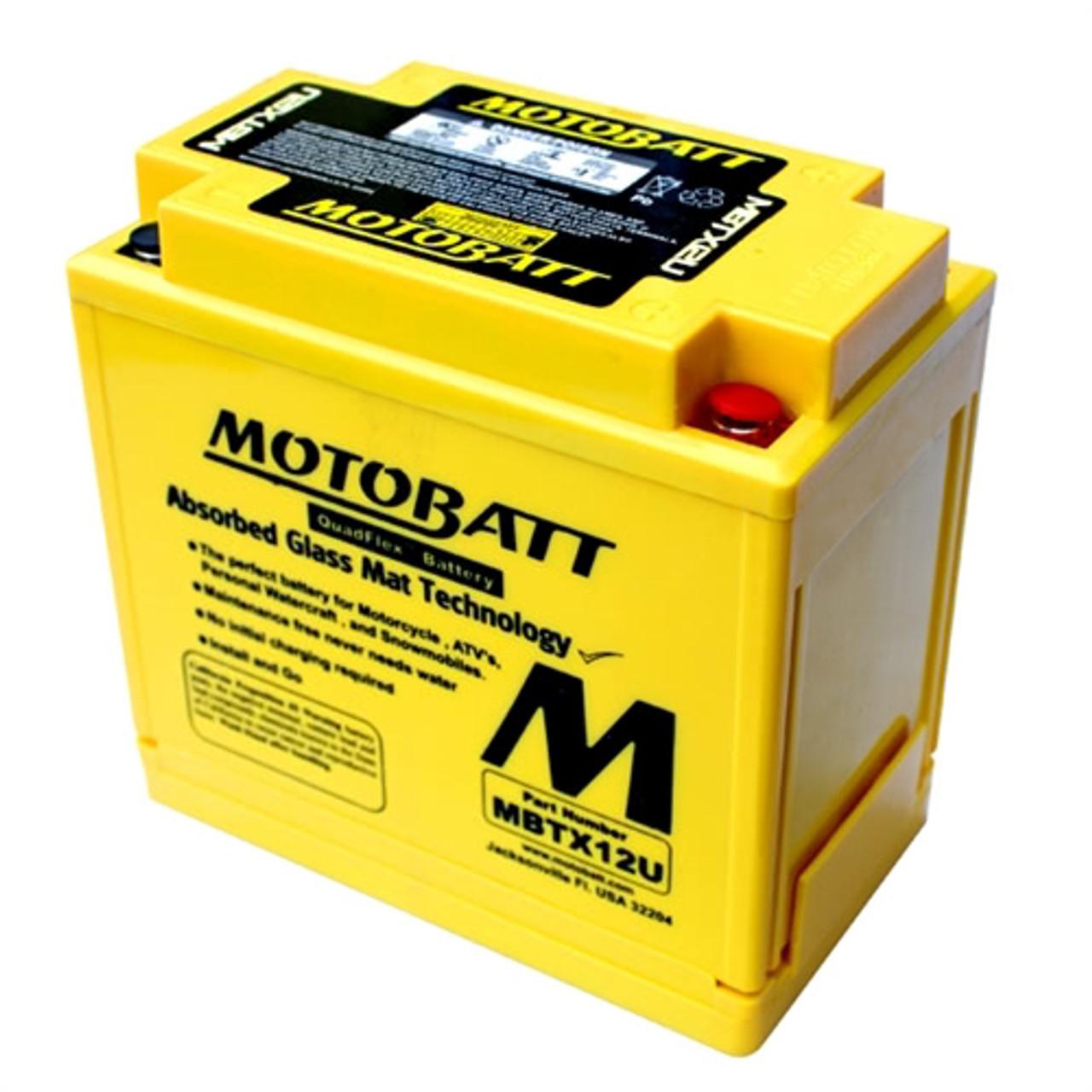 Motobatt Battery For Honda TRX250 Recon ES 97-03