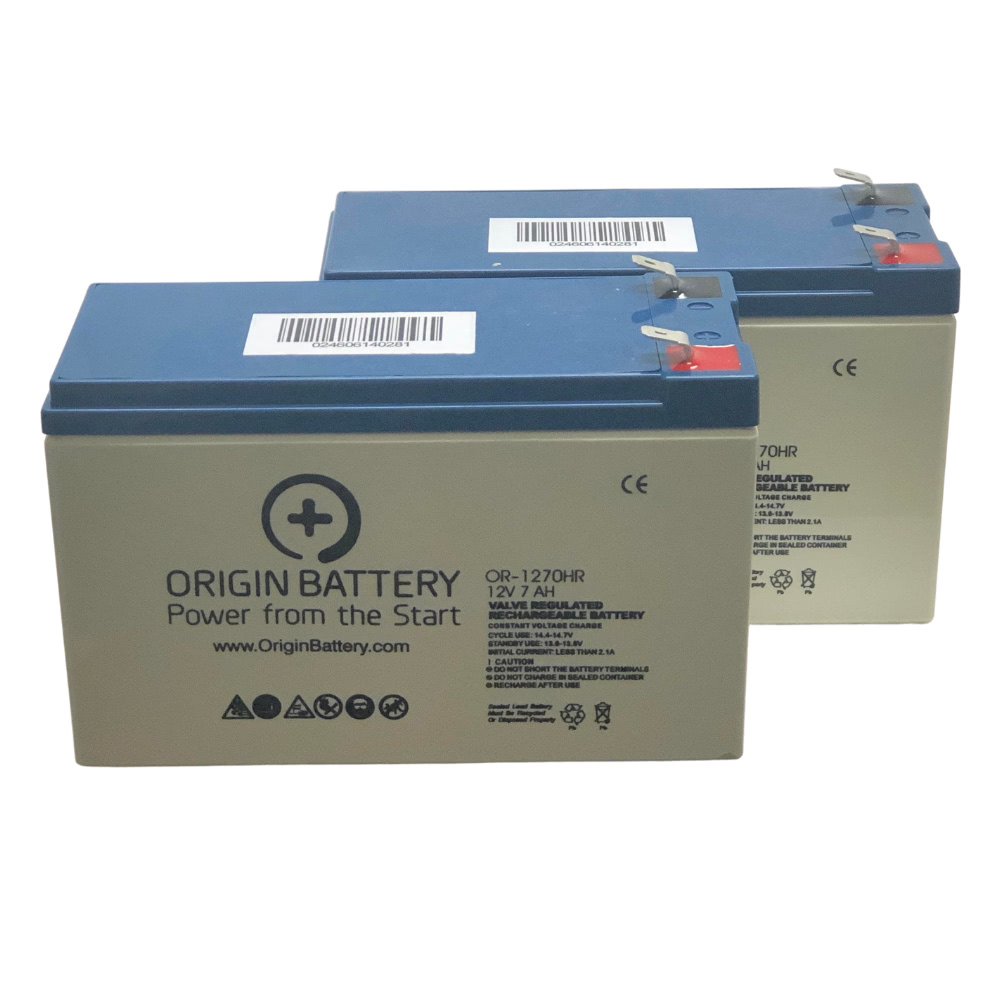 New Compatible Replacement Batteries para Systems//Minuteman ETR1000