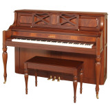 Kawai 907 Designer Studio Piano | English Regency Mahogany Finish