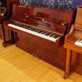 Samick JS-42 Polished Mahogany Upright Piano