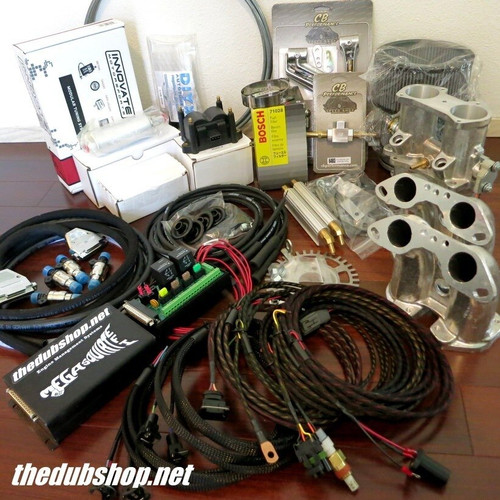Dual Throttle Body Fuel Only Injection Package Type 4 VW