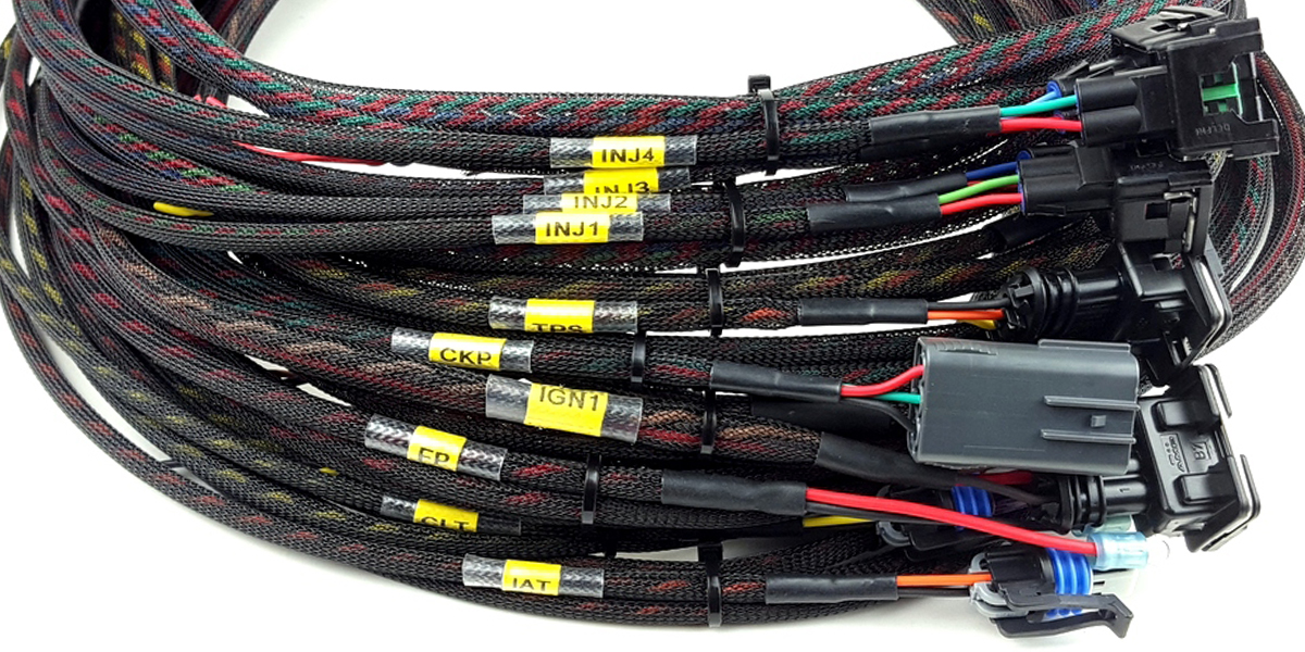 air cooled efi wire harness